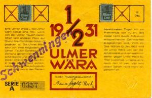 Ulmer Wära3