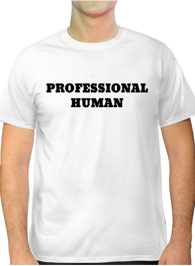 t-shirt professional human