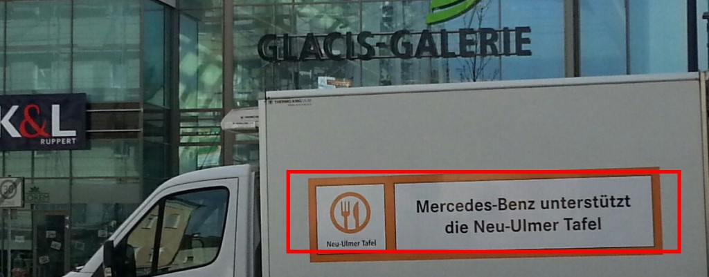 Mercedes beteiligt sich an der Neu-Ulmer Tafel - 2016.01