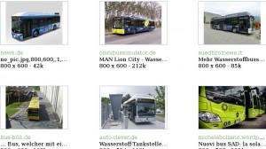 Wasserstoff Busse Deutschland Evobus Mercedes