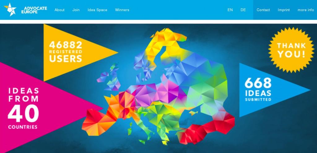 Screenshot from advocate-europe.eu - 2016-03-20