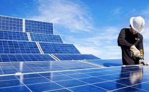 installing solar panels power plants renewables sun