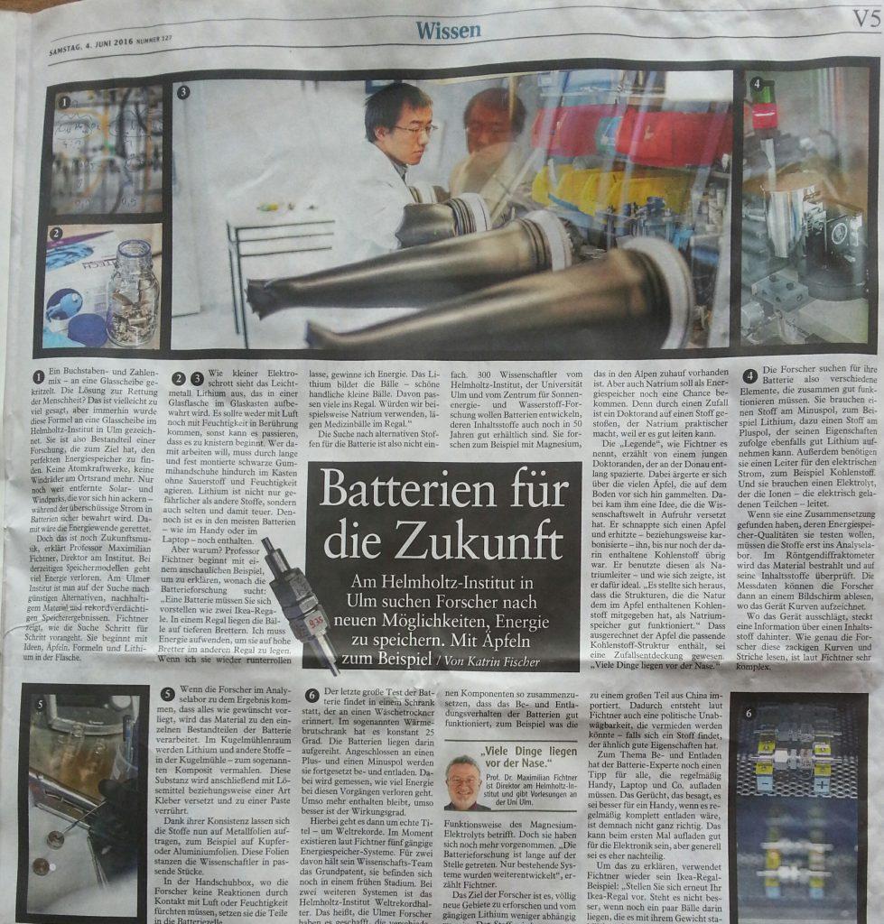 Batterien für die Zukunft aus Äpfeln aus Ulm Fragezeichen 20160604