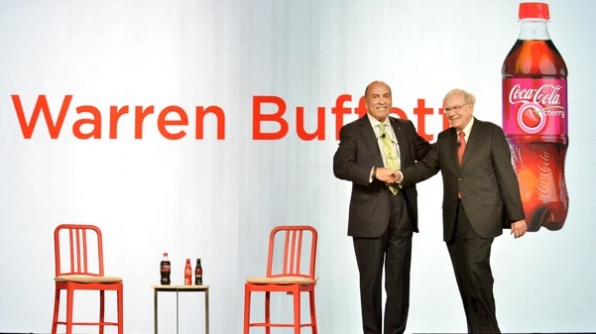 warren buffet at cocacola