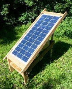90Watt Outdoor Solar Garten power Station IMG_20160717_101642