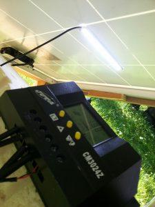 90Watt Outdoor Solar Garten power Station IMG_20160717_101859
