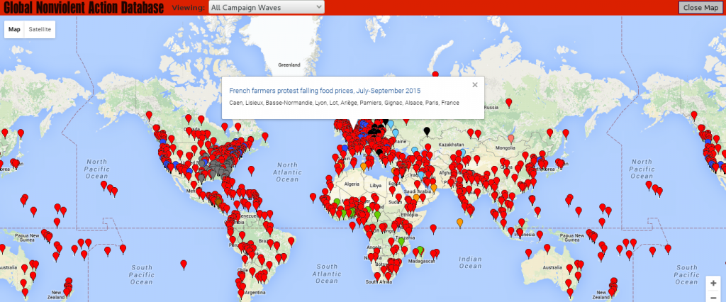 Protest Map Worldwide