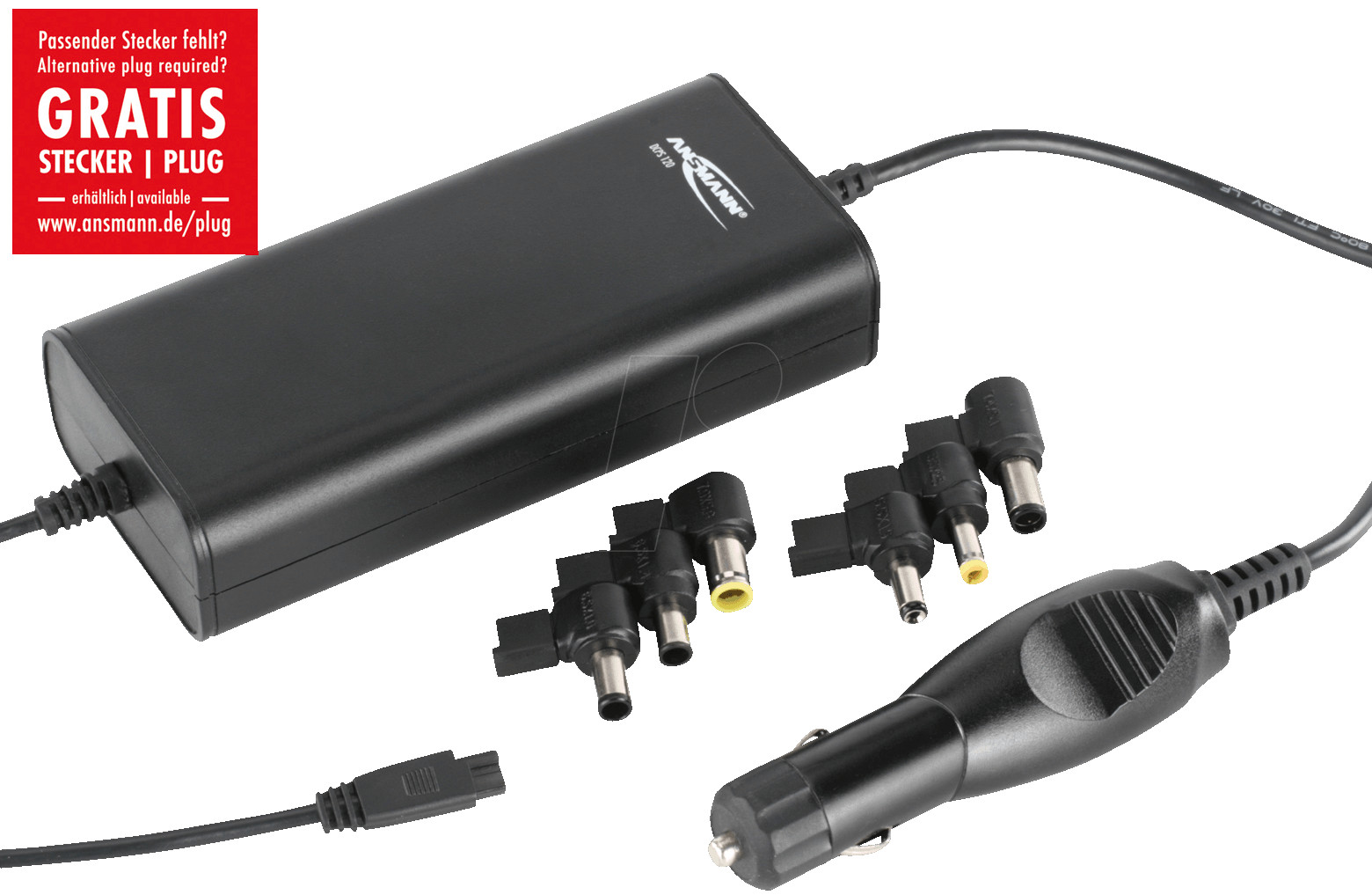 ansmann 12v laptop adapter reichelt DCPS_120_01