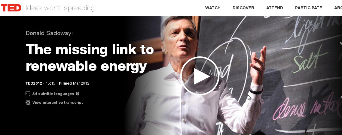 tedx-talk-donald-sadoway-the-missing-link-battery-to-renewable-energy