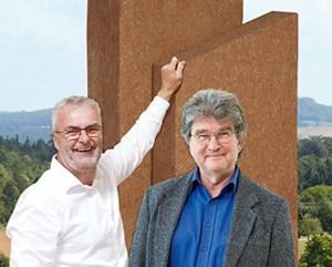 Alfred Theodor Ritter (r.) mit unserem Geschäftsführer Kurt Hogh