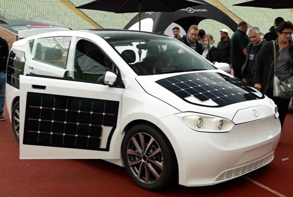 The Autarc Car Sion Das Erste Auto Mit Moos Luft