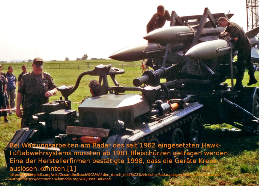 von US-Hersteller: https://de.wikipedia.org/wiki/Raytheon https://de.wikipedia.org/wiki/Gesundheitssch%C3%A4den_durch_milit%C3%A4rische_Radaranlagen#cite_note-Hitzewelle-1